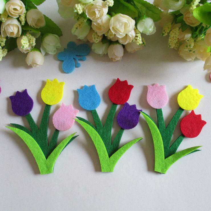 nonwoven fabric rolls for DIY felt flower for decoration