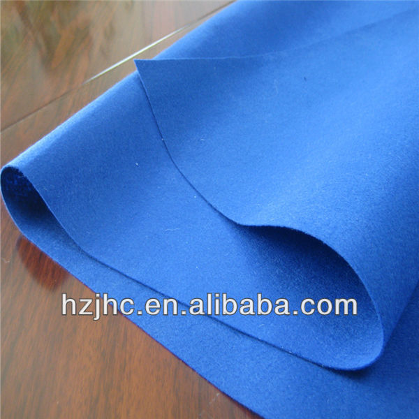 Polyester non woven needle punched felt for notebook cover