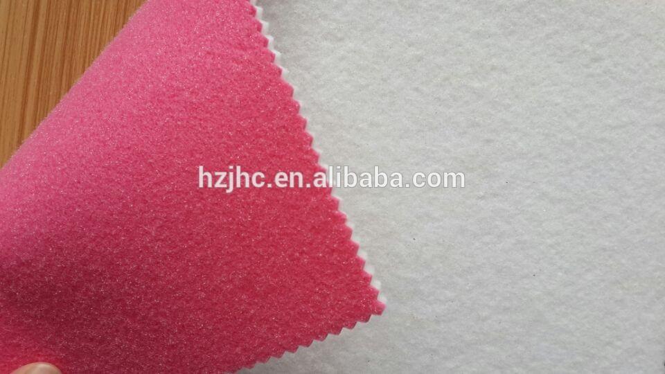 Derziyê re, bi kulman plastîk piştevanîya polyamide nonwoven hest placemats