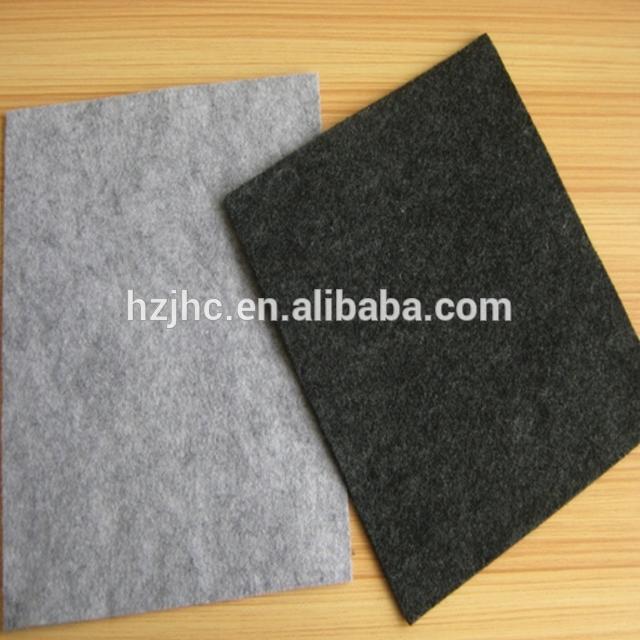 Aukštos kokybės adata perforuoti Poliesterio Neslystantis neaustinė kilimų audinį