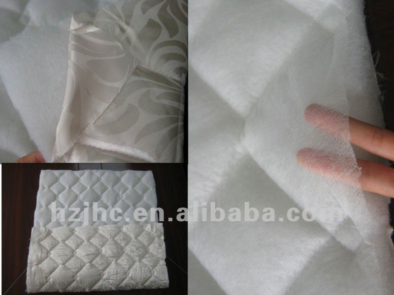 Nonwoven Thermal Bonded cotton for quilt wadding