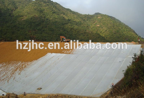 Strong tensile force & high density geotextile bentonite clay liner
