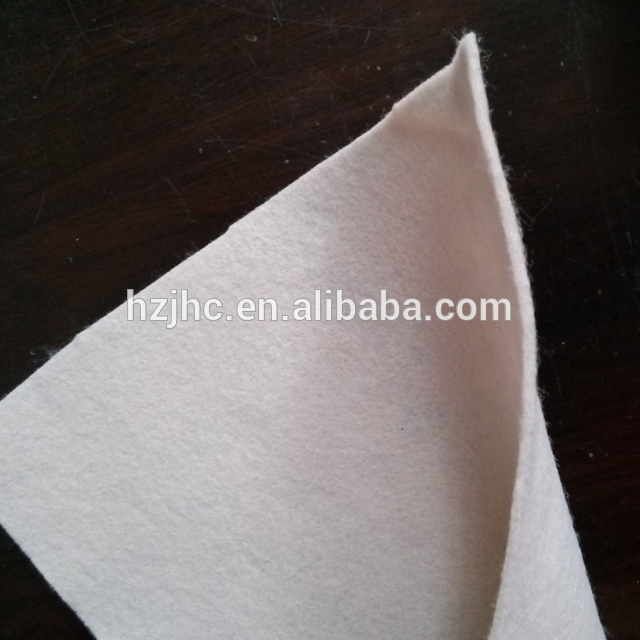 High strength recycled polyester felt needle punched nonwoven felts