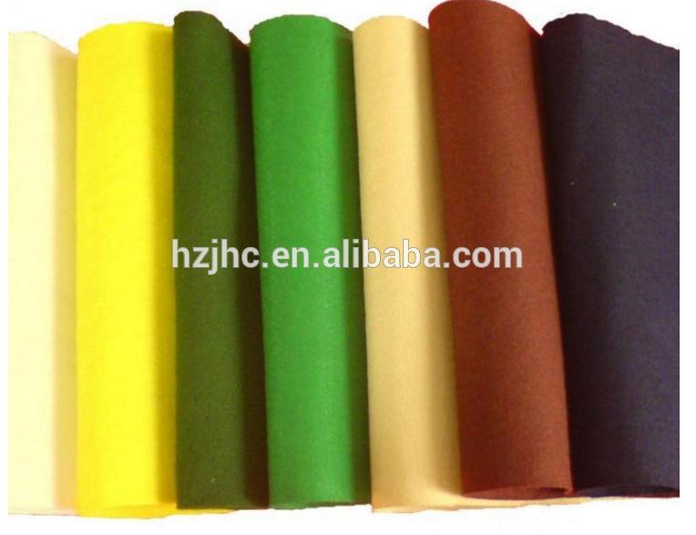 Oeko-Tex स्टैंडर्ड 100 3 मिमी प्राकृतिक रंग पॉलिएस्टर एल महसूस किया