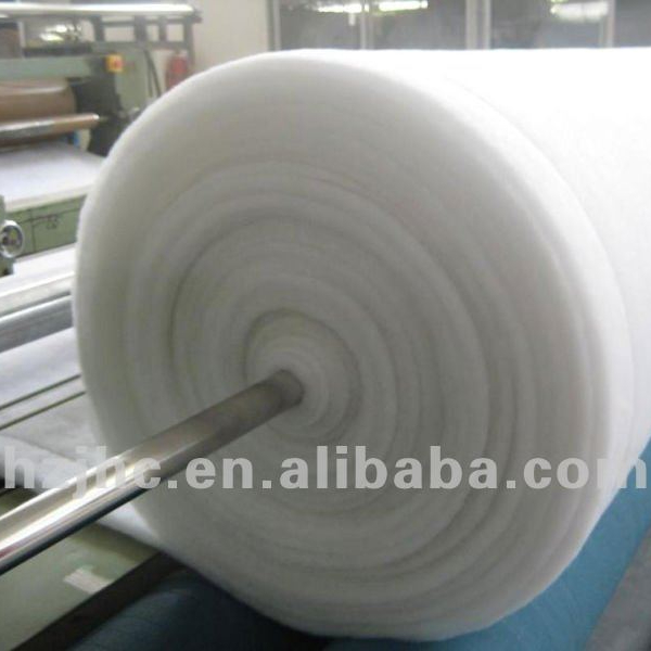 Thermal Bonded Hot Air Through nonwoven wadding for pillows