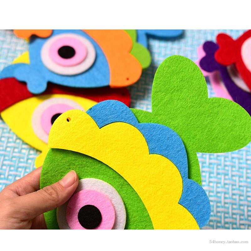 farverige nonwoven filt til DIY for børn og voksne