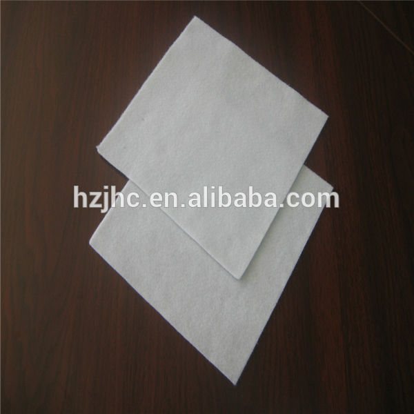 Needle punched polyester nonwoven fabric scrap