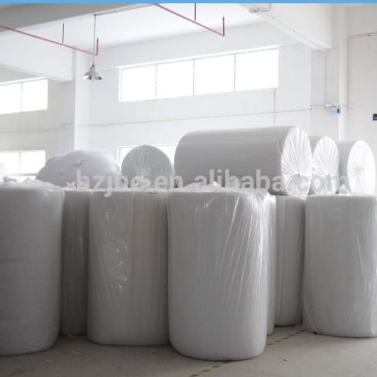 hot air throughCross pattern nylon nonwoven for shoes interlining