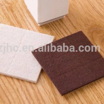 JHC high quality self adhesive felt pad protector for furture feet