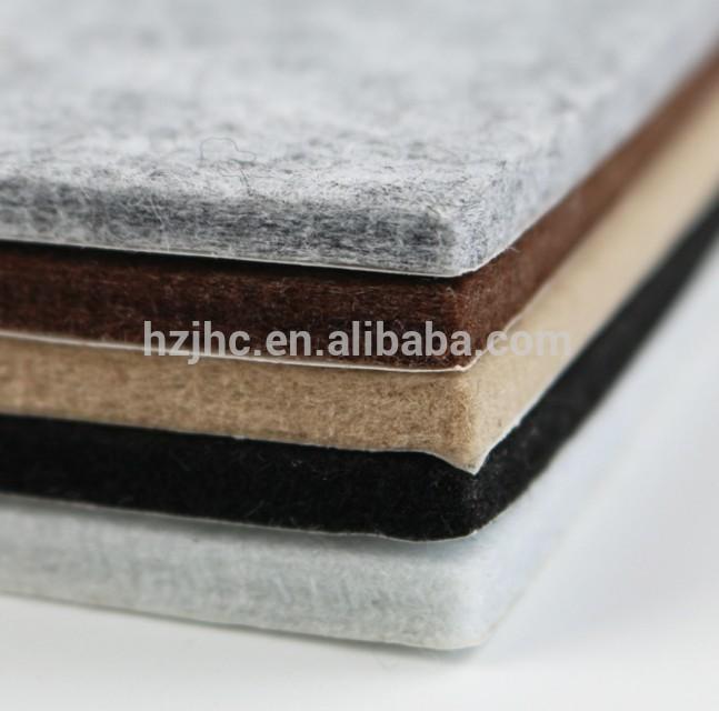 Hard 100% Polyester stof vir Nonwoven Matras