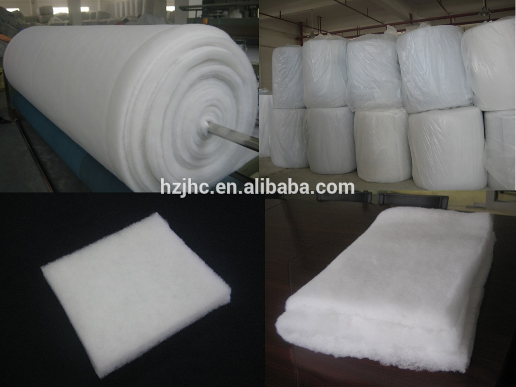 Non woven polyester fiber padding and wadding