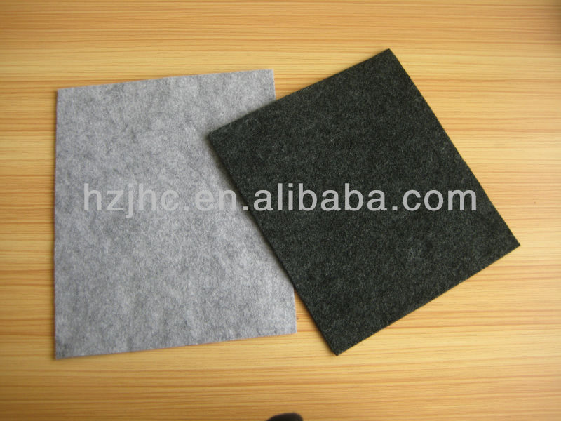 Wholesale polyester fireproof nonwoven felt seat cover / cloth