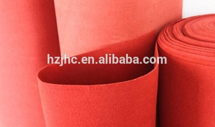 Punzonado alfombra llano sentía alfombra rollo de esterilla antideslizante