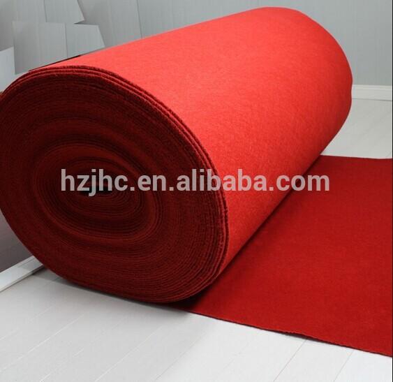 Alibaba polyester nonwoven needle felt carpet rolls manufacturer