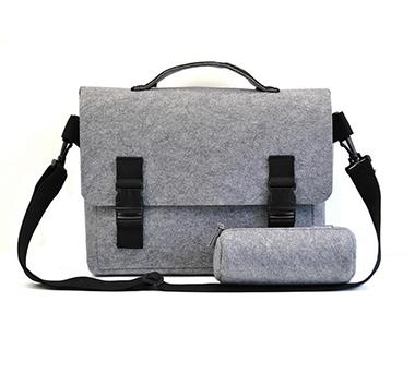फैशन गैर बुना के लिए गैर बुना रोल लैपटॉप बैग महसूस किया