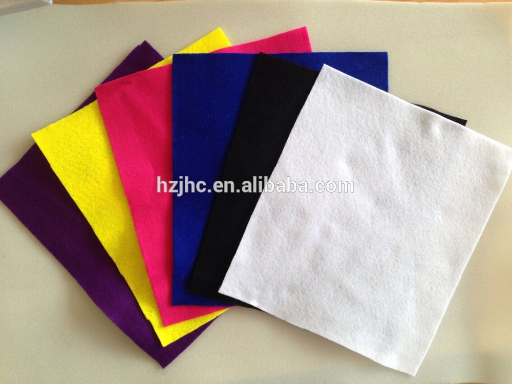 Indoor or outdoor Hotel style carpet plain nonwoven polyester carpet