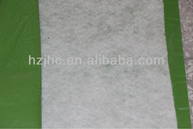 non woven fabric laminated pvc backing polyester fabric