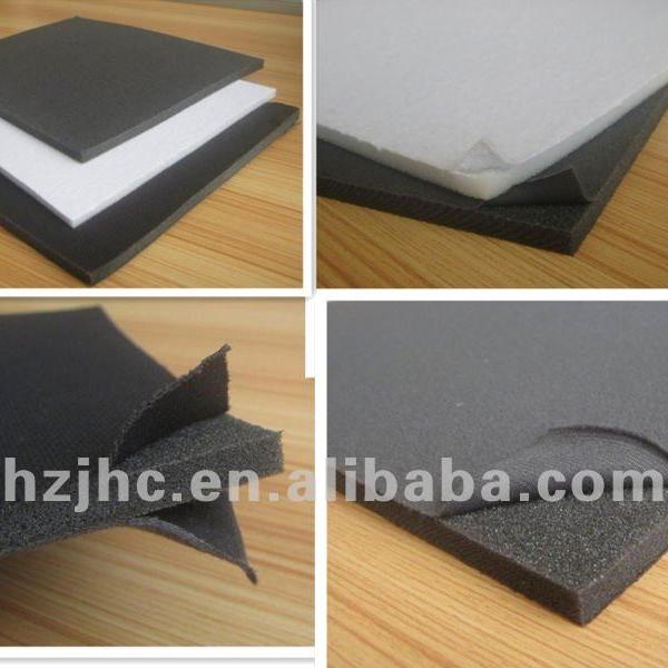 Custom PE/PP film/sponge foam laminated polyester non woven fabric supplier