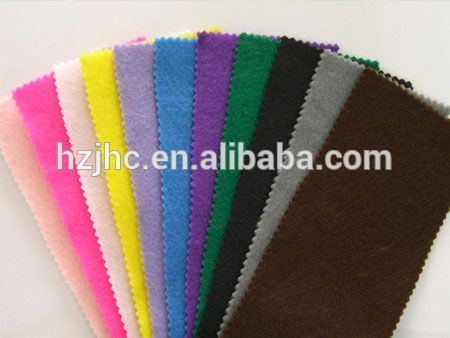 China needle punched polyester sewing felt craft fabric wholesale