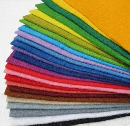 nonwoven fabric rolls for DIY felt toy for kids