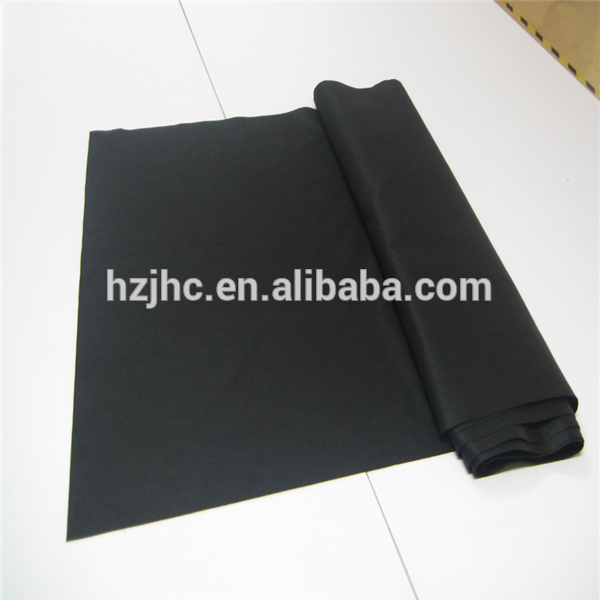 Needle punched polyester non-woven activated carbon fiber cloth