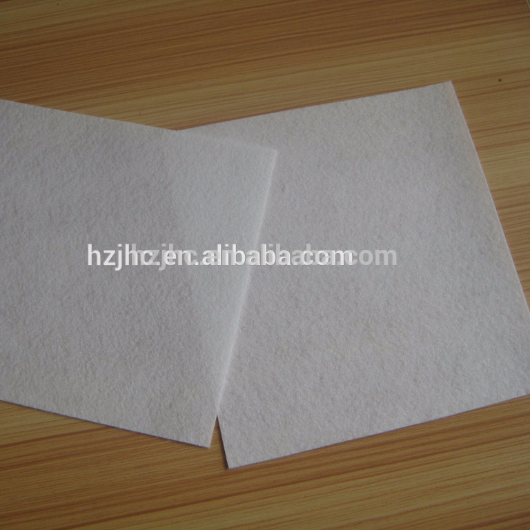 Non woven water filter fabric