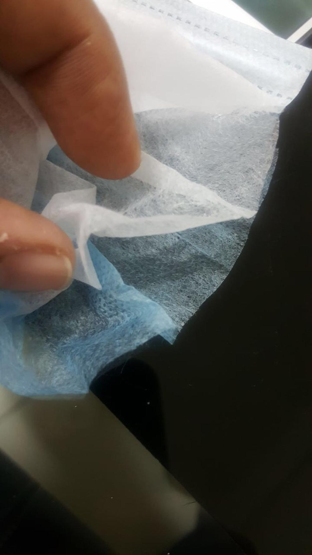 Hospital grade non-woven fabric for surgical mask