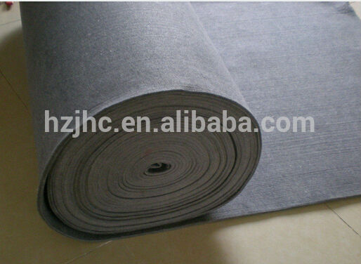 Thermal blanket 100% polyester non woven needle punched felt fabric