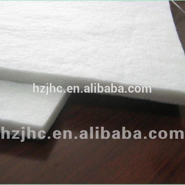Неткаен индустриски полиестерски филц и волна чувствува ткаенина