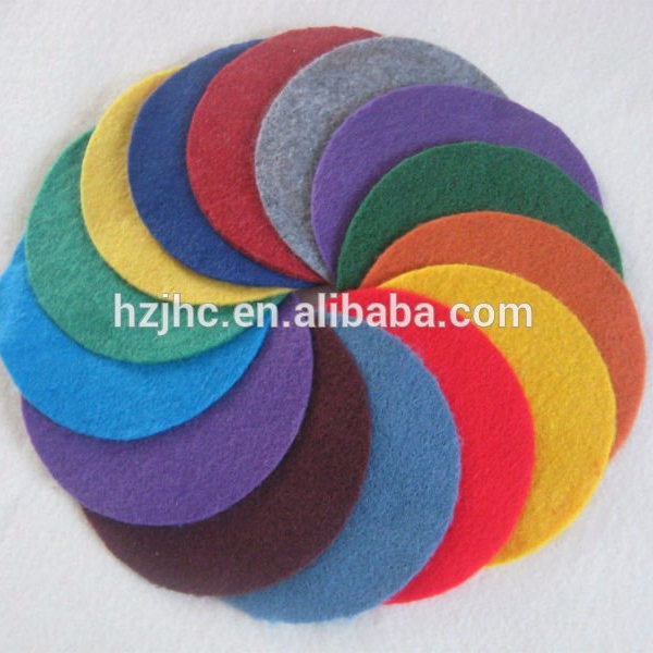 Needle-punched non woven 10mm thick felt