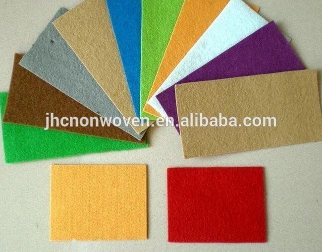 Novi izdelki tiskani poliester igle narejene čutil tkanine stenske nalepke