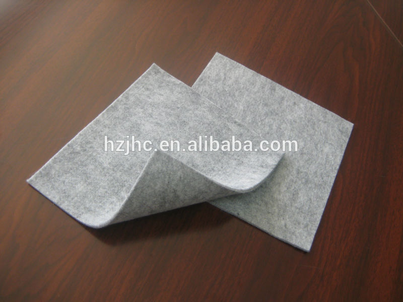Polyester kevlar needle punch nonwoven felt fabric wholesale