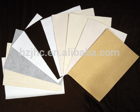 Needle punched polypropylene pet non-woven air filter cloth supplier