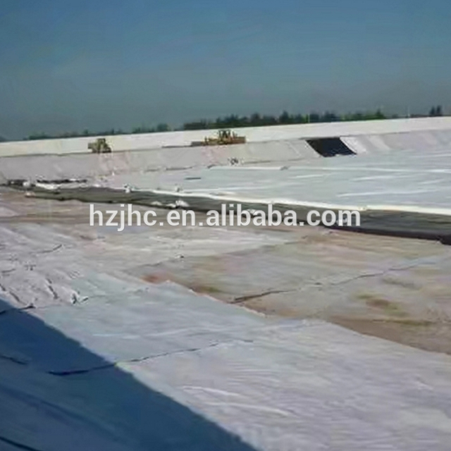High Strength Plain Nonwoven Geotextile Fabric For Retaining Wall