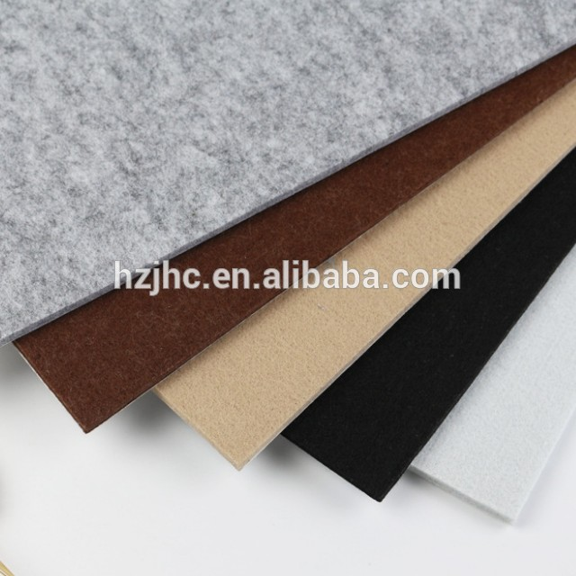Hard type nonwoven carpet backing cloth
