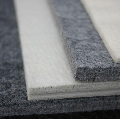 Insulation hard polyester needle punched nonwoven base lining board cloth