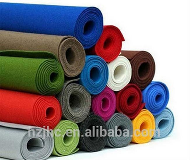 Custom Needle punched wool nonwoven felt strips roll supplier Featured Image