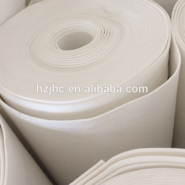 Jinhaocheng Factory Needle Punched Felt Nonwoven Fabric