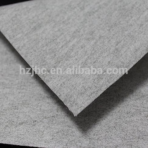 Decoration materials non-woven fabric felt in stock