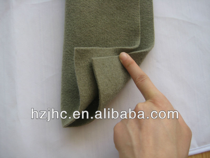 Needle punched nonwoven car seats upholstery felt cover fabric
