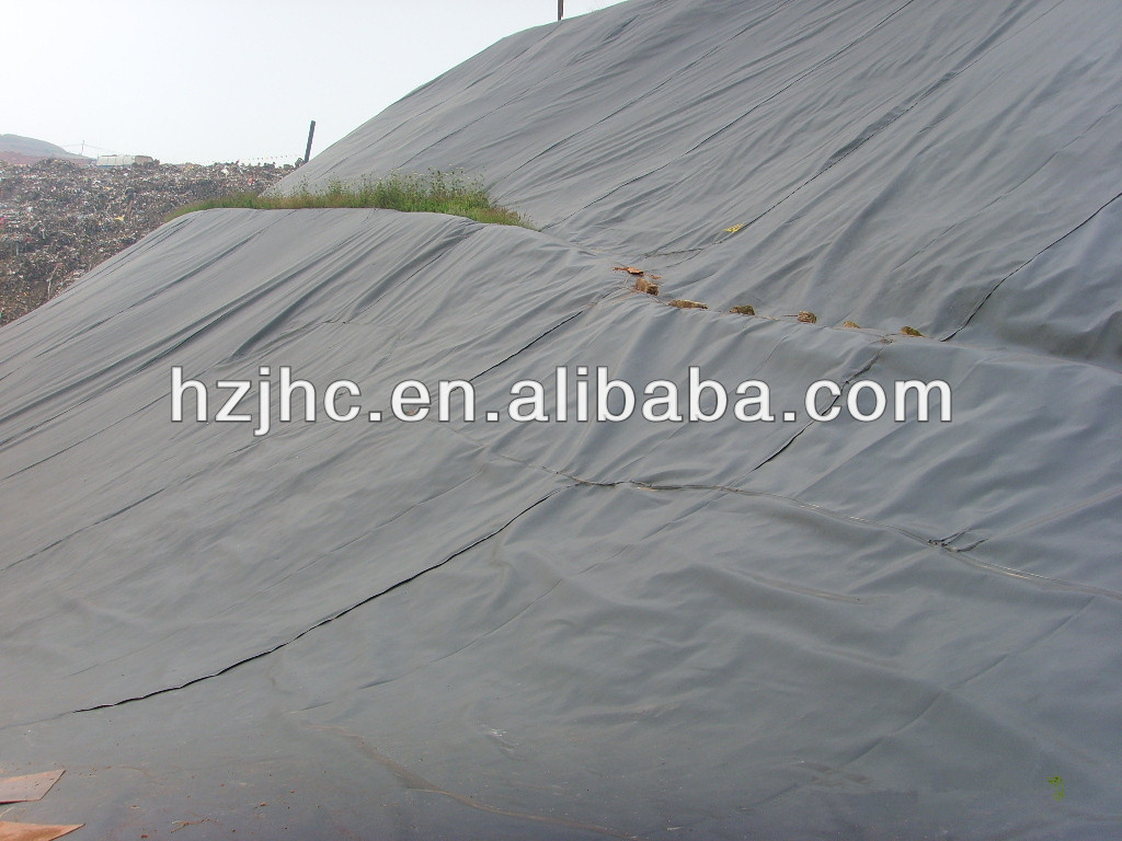 100g/m2 Polyester Staple Fiber Nonwoven Geotextile Silt Curtain Fabric