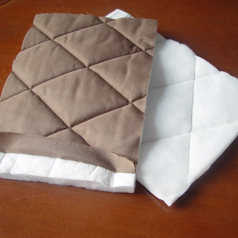 PET thermal wadding quilting material
