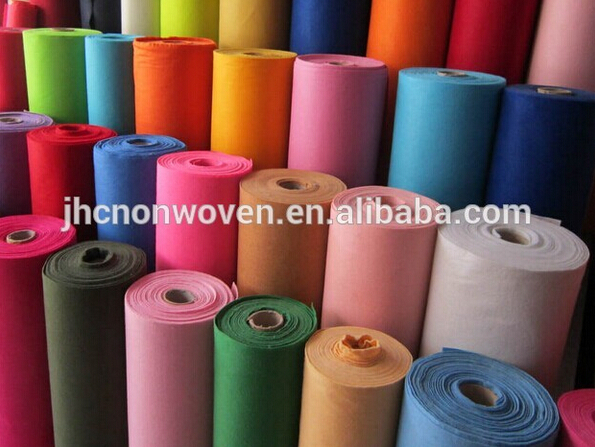 Plain non woven polyester exhibition carpets and rugs for living room