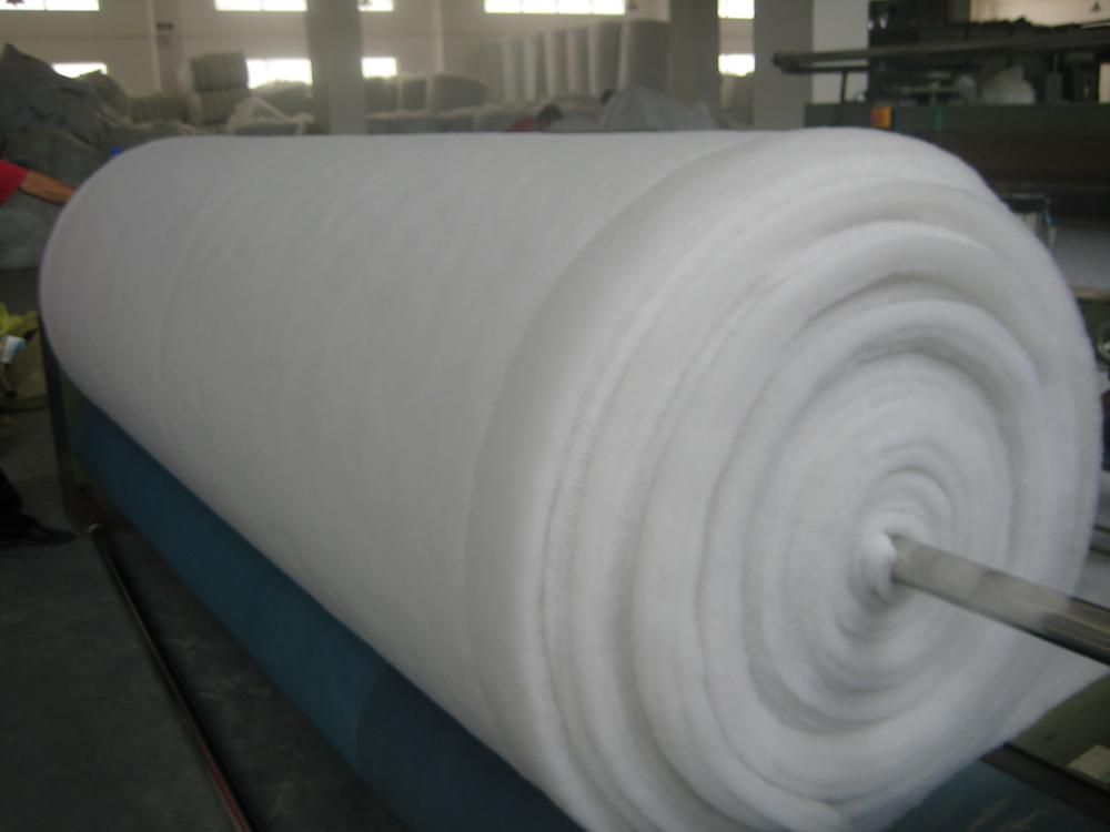 nonwoven polyester wadding for mattress