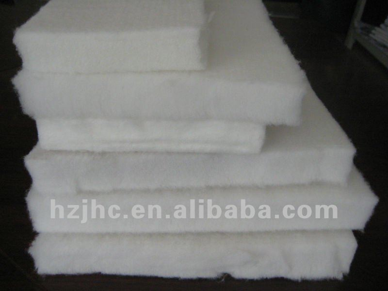 Polyester sofa filling material