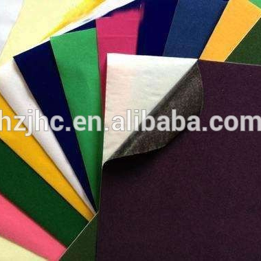 Self adhesive felt fabric sheets / polyester non woven felt