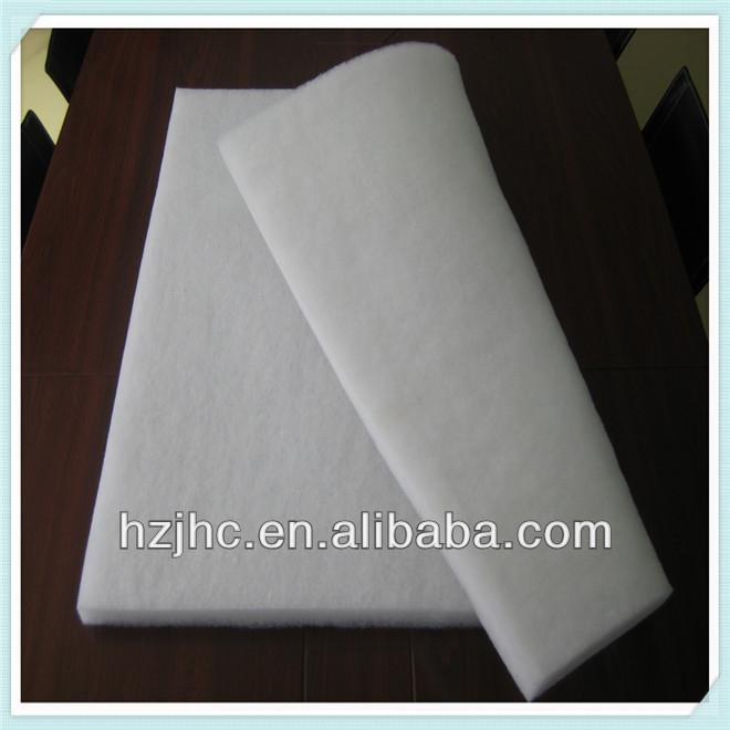 Wholesale bulk heated polyester nonwoven felt pad for mattress