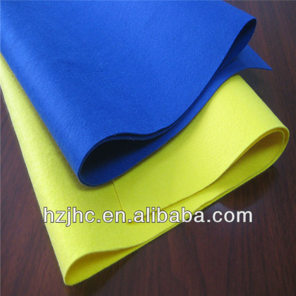 New design nonwoven needle pet felt fabric used making hand bags