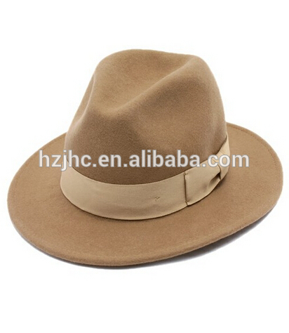Cheap non woven needle punched wool felt making fedora hats