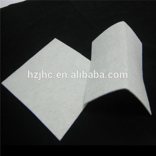 Needle punched non woven polyethylene filter fabric